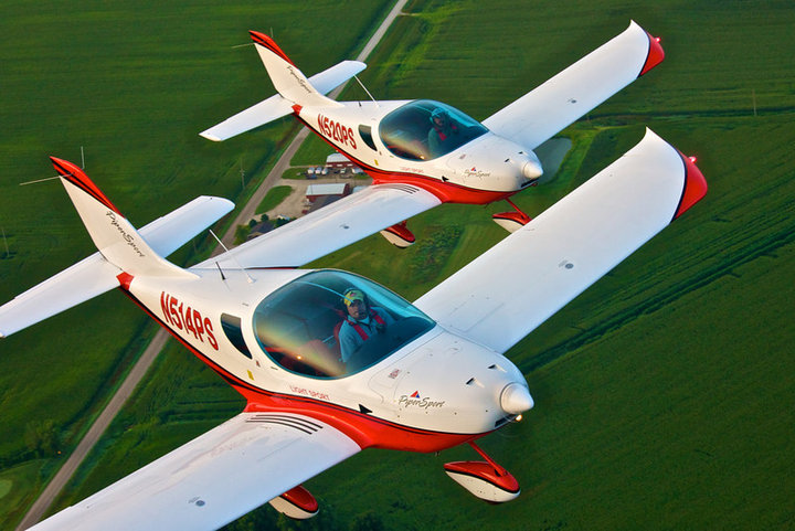 See Czech Sport Aircraft Introductory Video - click image link to open and view in new browser window!
